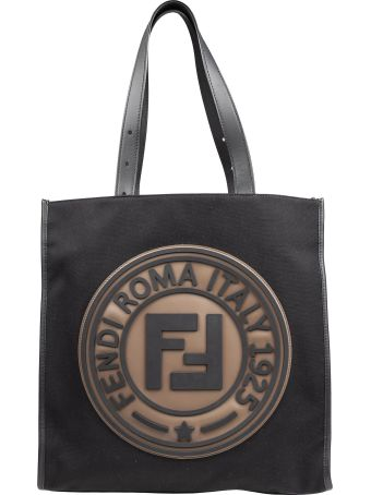 Fendi Logo Shopper Bag