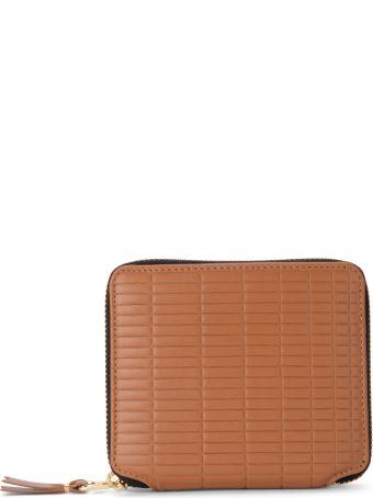 Comme des Garçons Wallet Comme Des Garçons Brick Line Leather Wallet