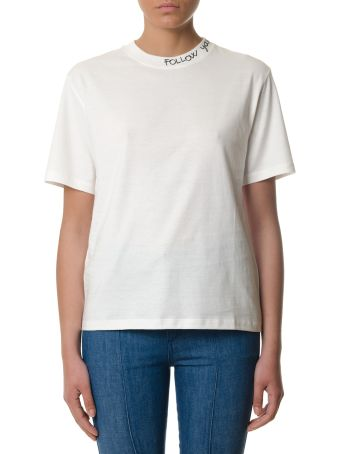 Golden Goose White Samia Cotton T-shirt