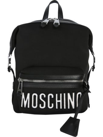 Moschino Backpack With Logo Lettering