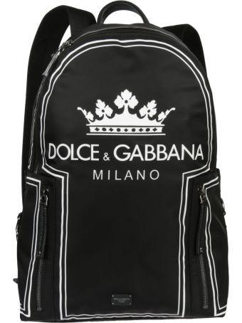 Dolce & Gabbana Baseball Vulcano Backpack