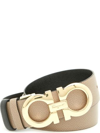 Salvatore Ferragamo 'score' Belt
