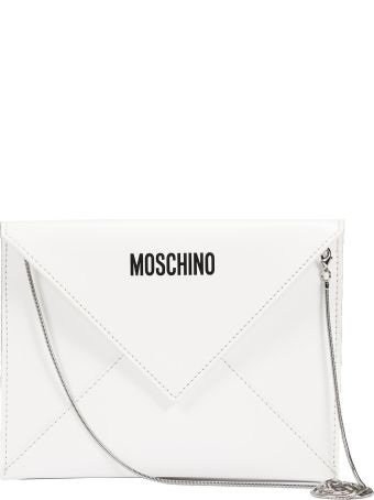 Moschino I Love You Envelope Clutch