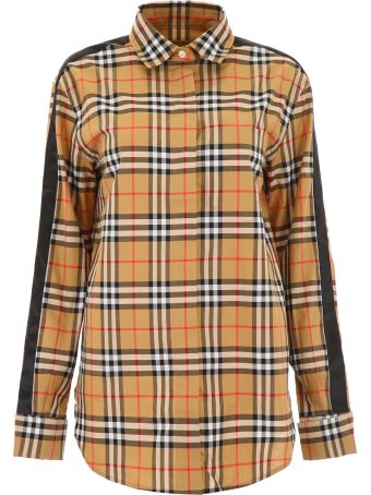 Vintage Check Shirt With Bands