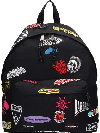VETEMENTS Black Fabric Backpack