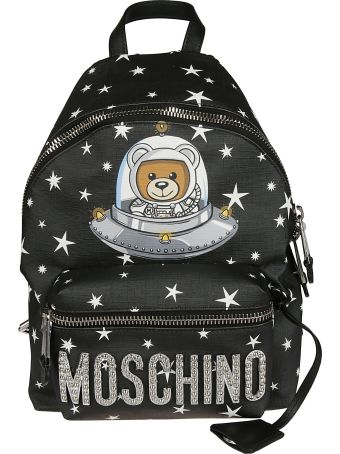 Moschino Space Ufo Teddy Bear Backpack