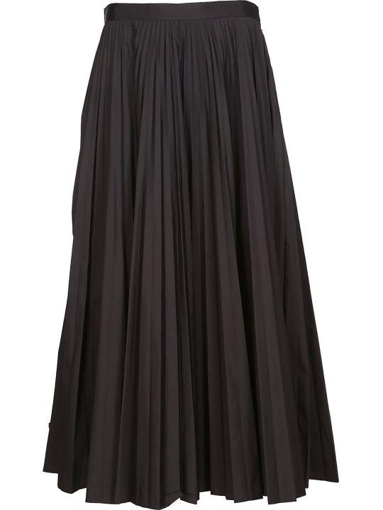 Maison Margiela Pleated Flared Skirt