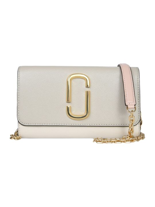 Marc Jacobs Snapshot Wallet With Chain Strap