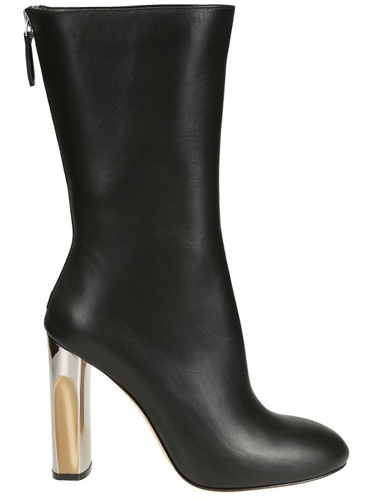 Alexander McQueen Sculpted Heel Boots