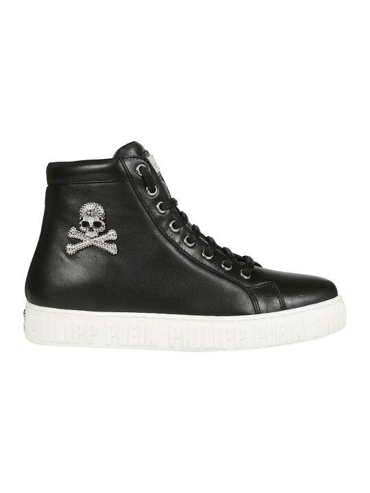 Philipp Plein Embellished Sneakers
