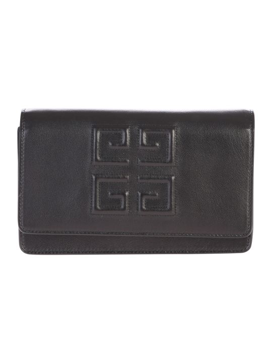 Givenchy Leather Wallet On Chain