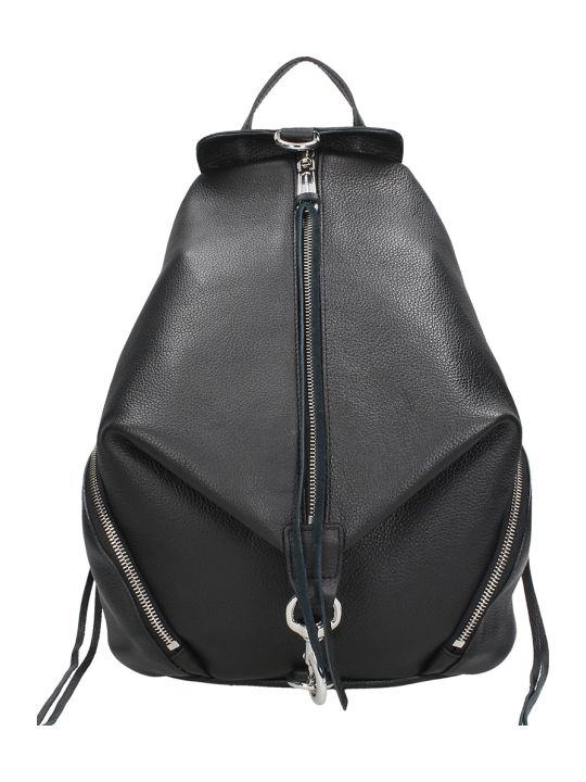 Rebecca Minkoff Black Leather Backpack