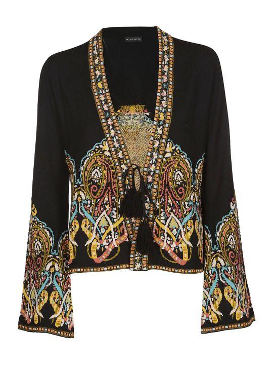 Etro Patterned Knit Cardigan