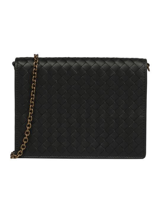 Bottega Veneta Braided Pattern Shoulder Bag