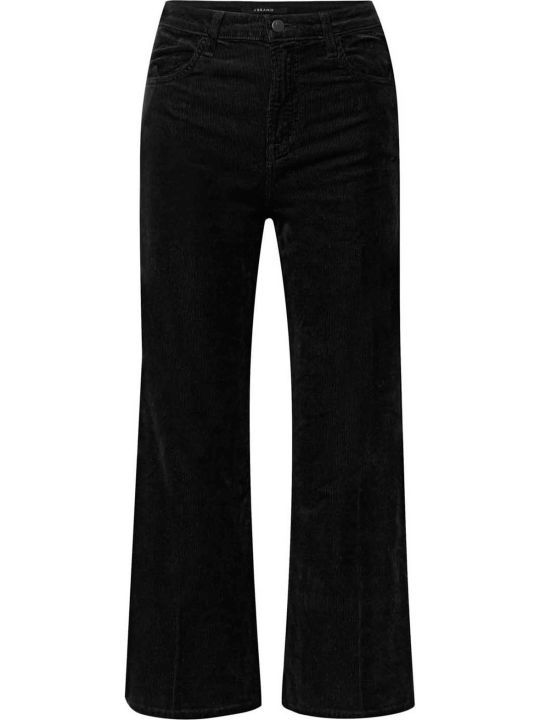 J Brand Joan Crop Corduroy High-rise Jeans