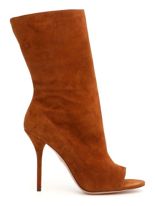 Aquazzura Touche' Suede Boots