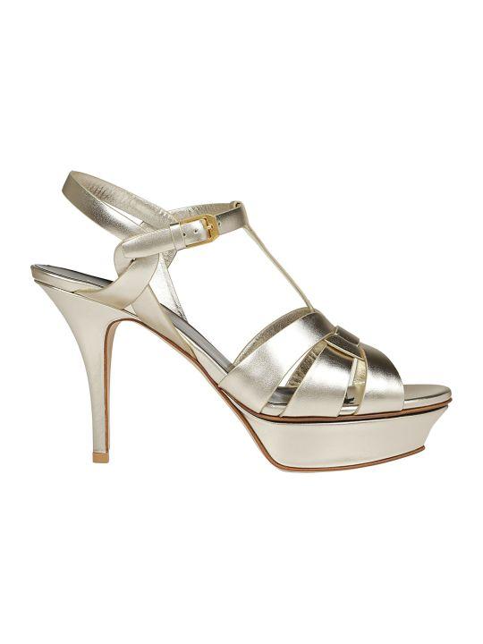 Saint Laurent Tribute Co 75 Sandals