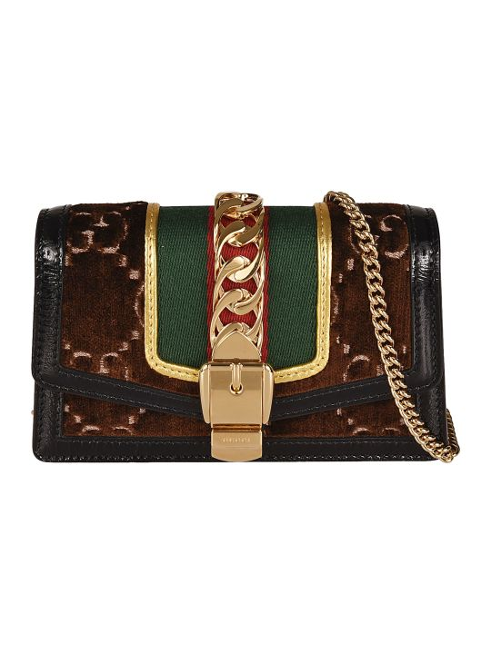 Gucci Sylvie Gg Supreme Shoulder Bag