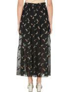 Chloé Ankle-length Paisley Lurex Jacquard Skirt