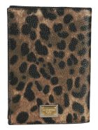 Dolce & Gabbana Leopard Print Passport Holder