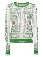 Tory Burch Patterned Cardigan