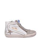 Golden Goose Sneakers Slide - White Leather