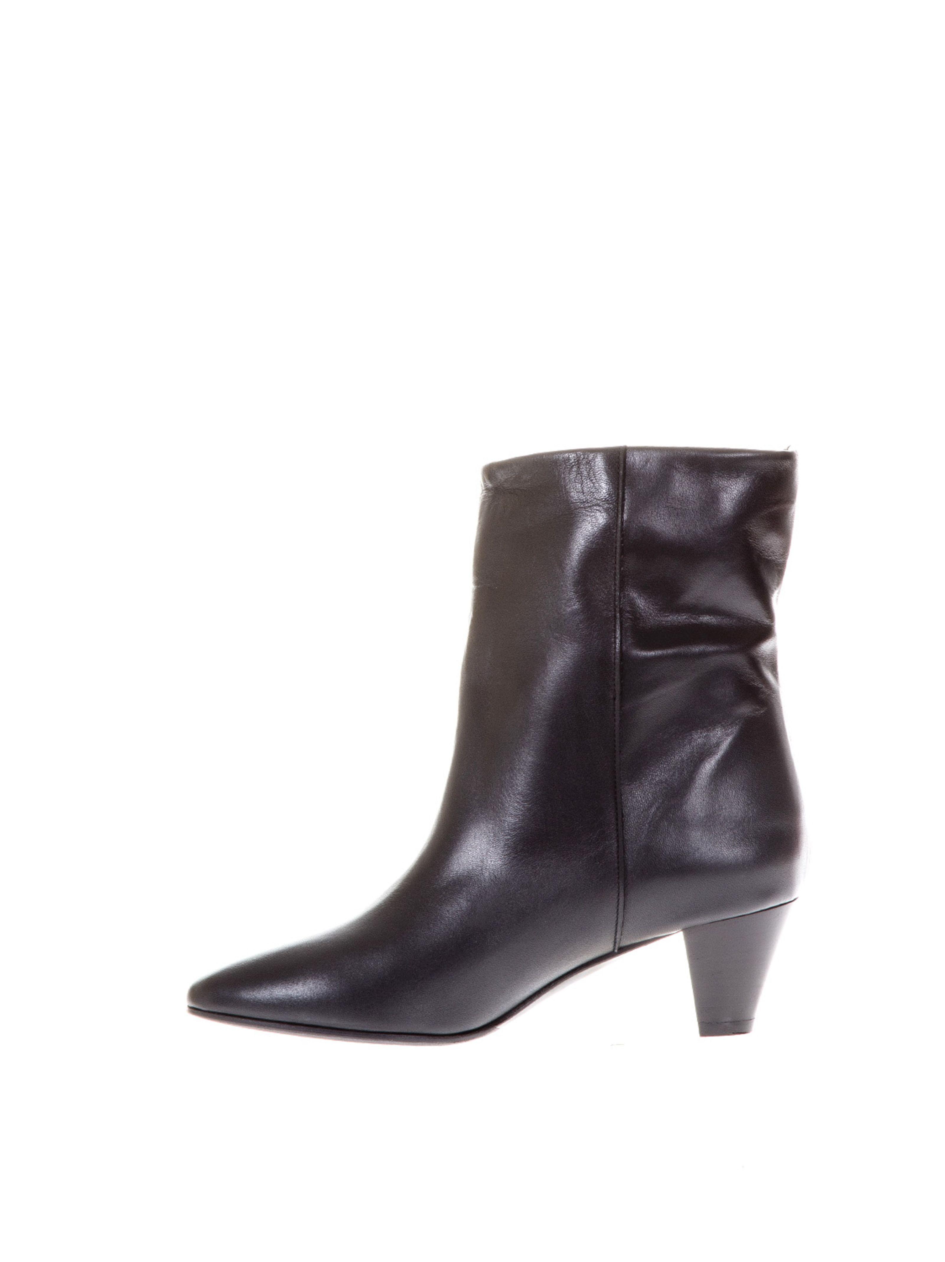 heeled leather boots - Black Marc Ellis fV5oohSbP