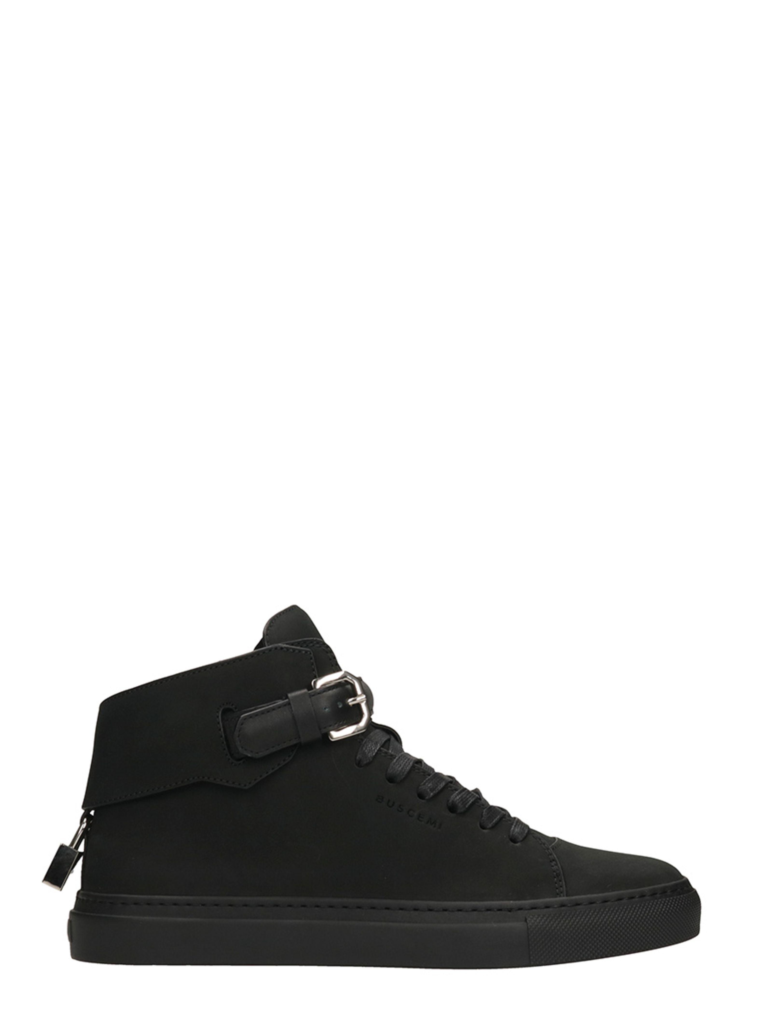 Chaussures De Sport Boucle De 100mm Noir Buscemi 4kIefUVB