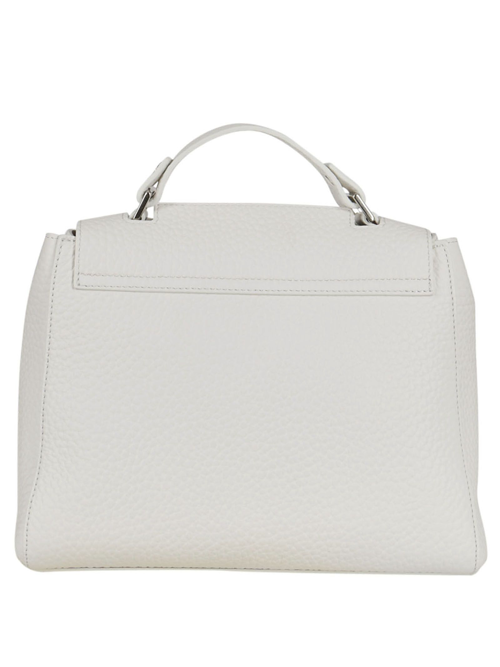 Shoulder Bag for Women On Sale, White, Leather, 2017, one size Orciani