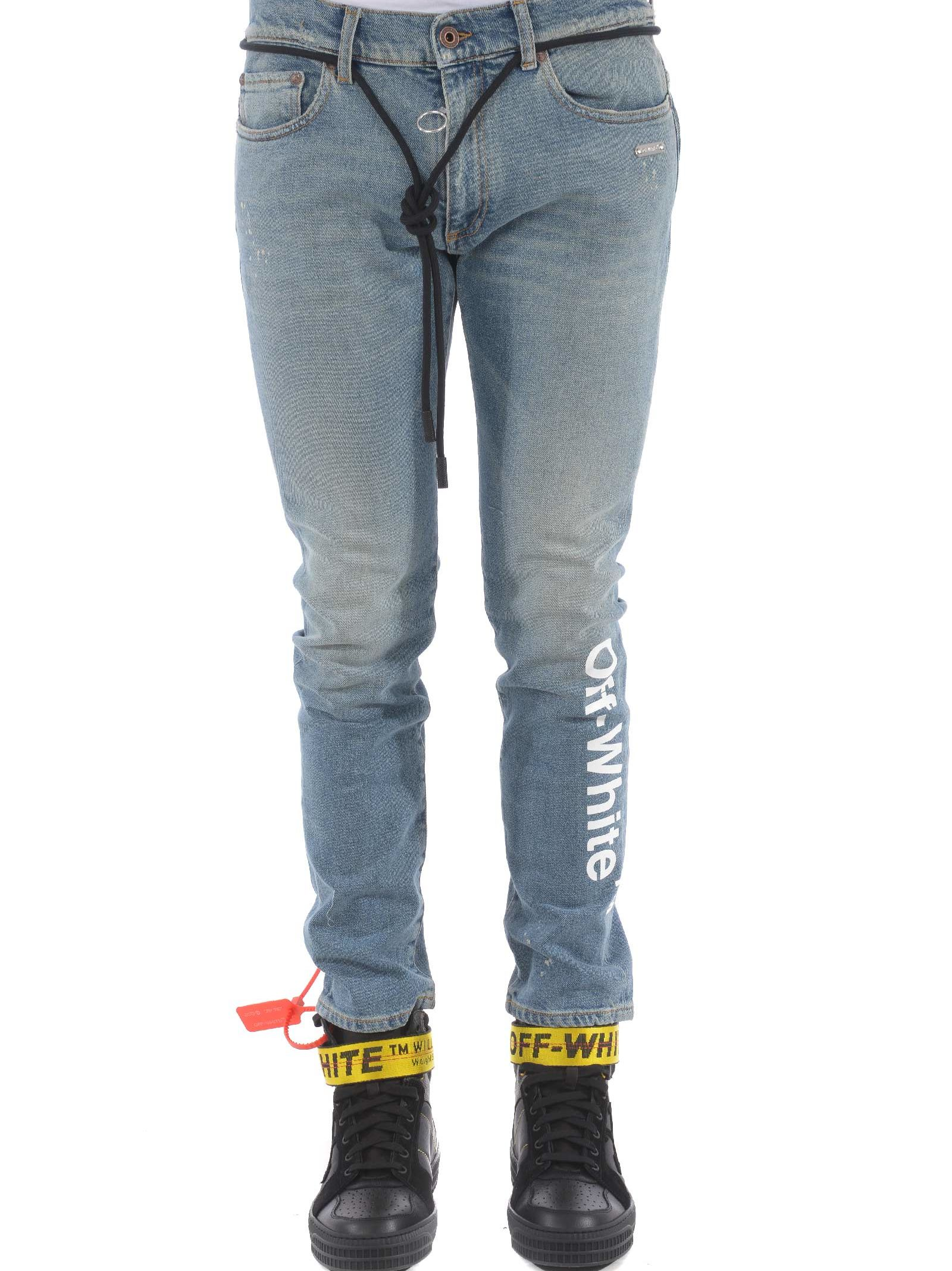 Off-white Skinny Vintage Jeans