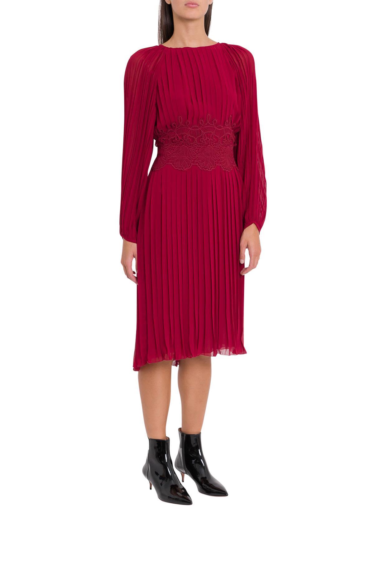 Parosh Pleated Dress 10712308