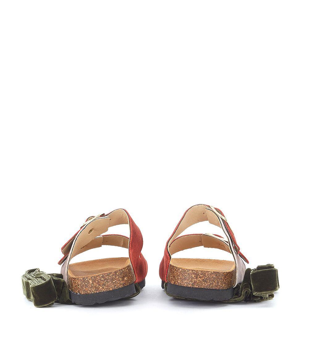 Green Oslo sandal Gia Couture fXtFKQ7BR4