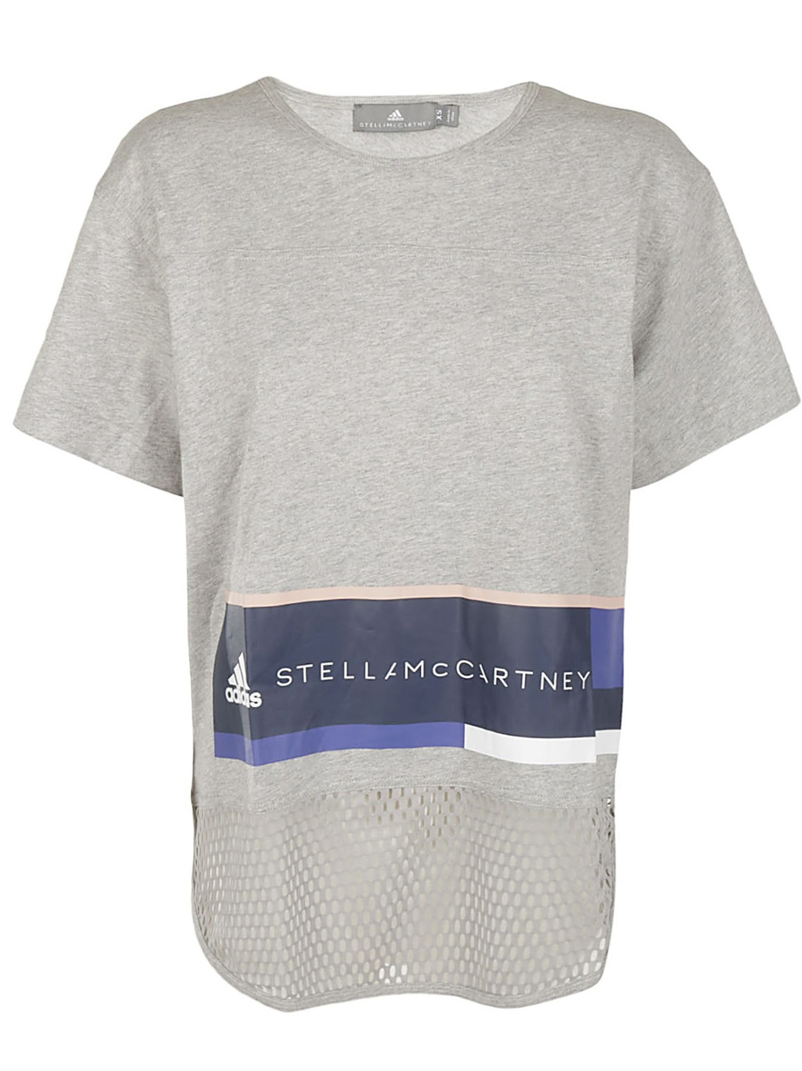 Top for Women On Sale, Adidas X Stella Mccartney, White, Organic Cotton, 2017, 8 Stella McCartney