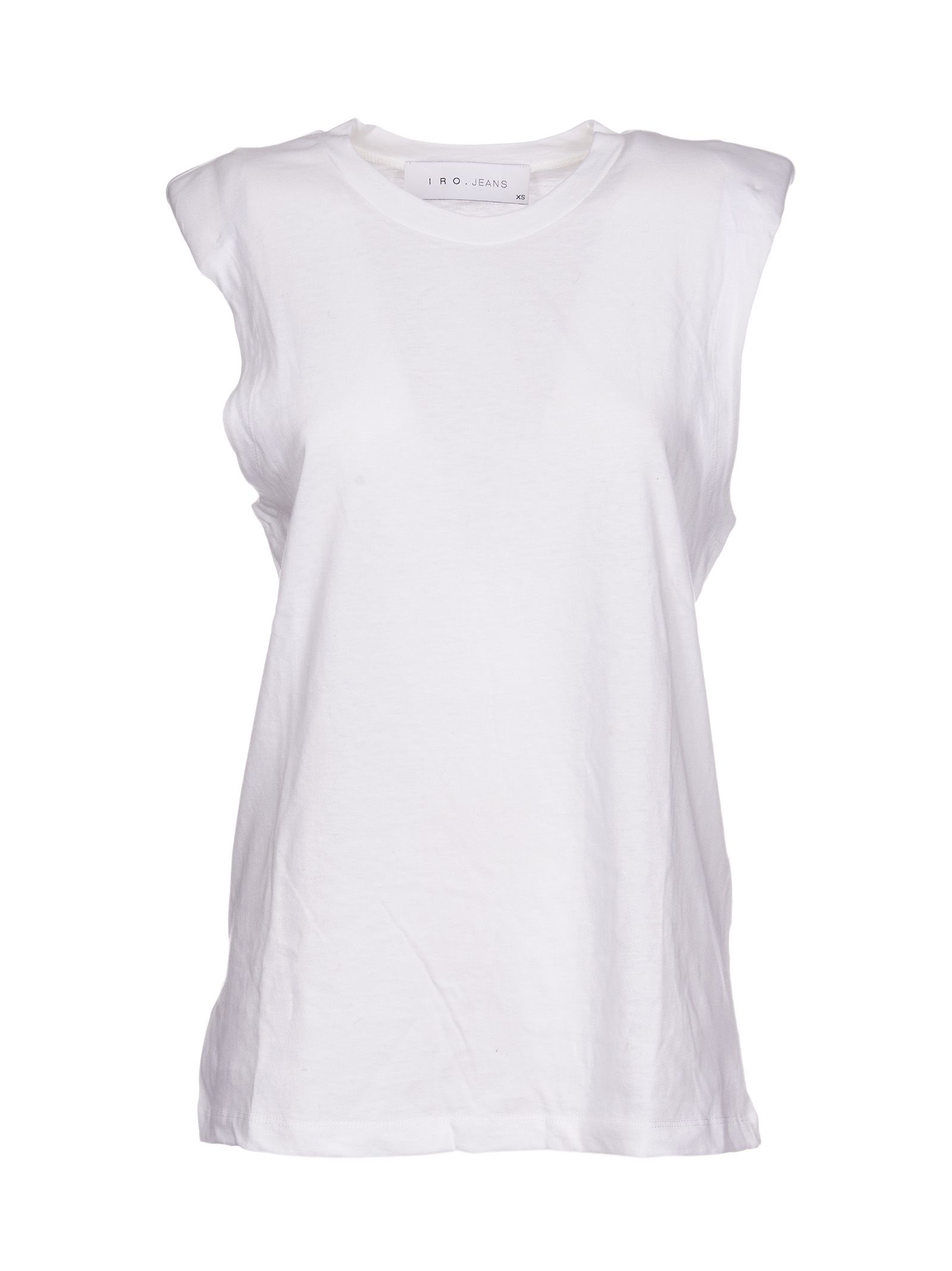 For Sale Sale Online Iro crew-neck tank - White Discount Top Quality Outlet Amazing Price Cheap Browse sPTyv7