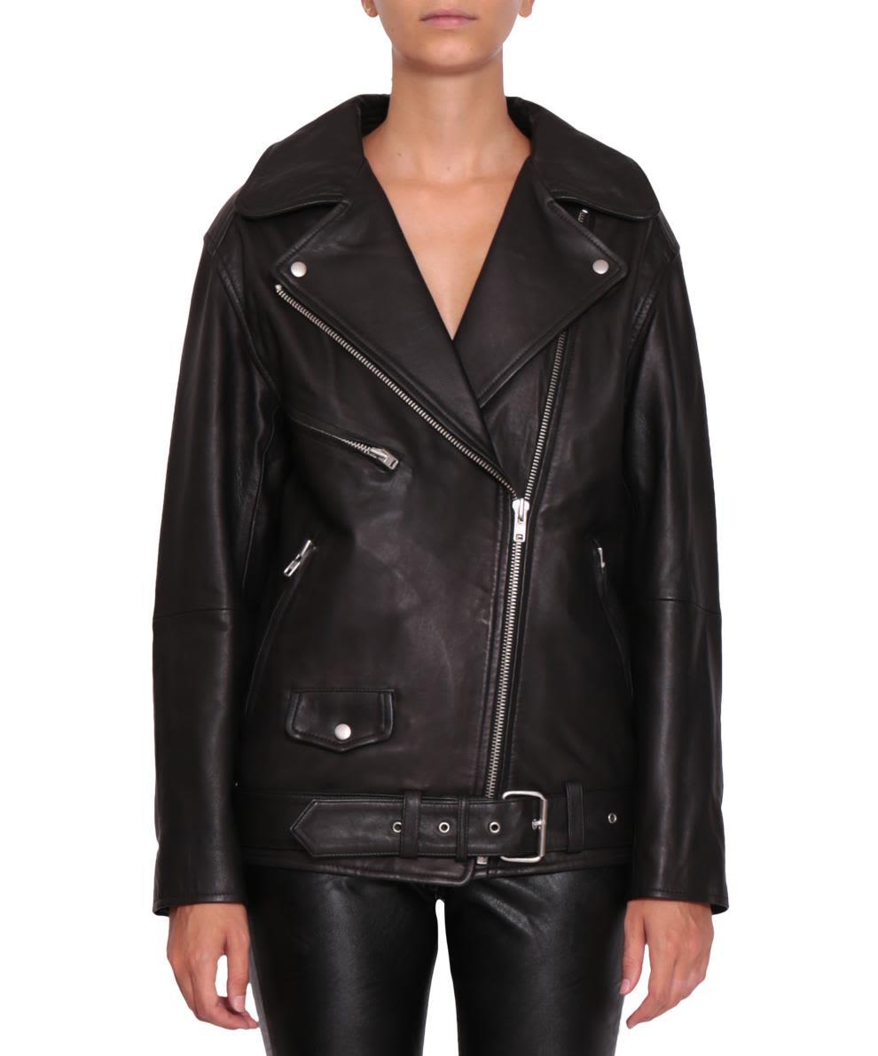 Isabel Marant Étoile Abely Leather Jacket