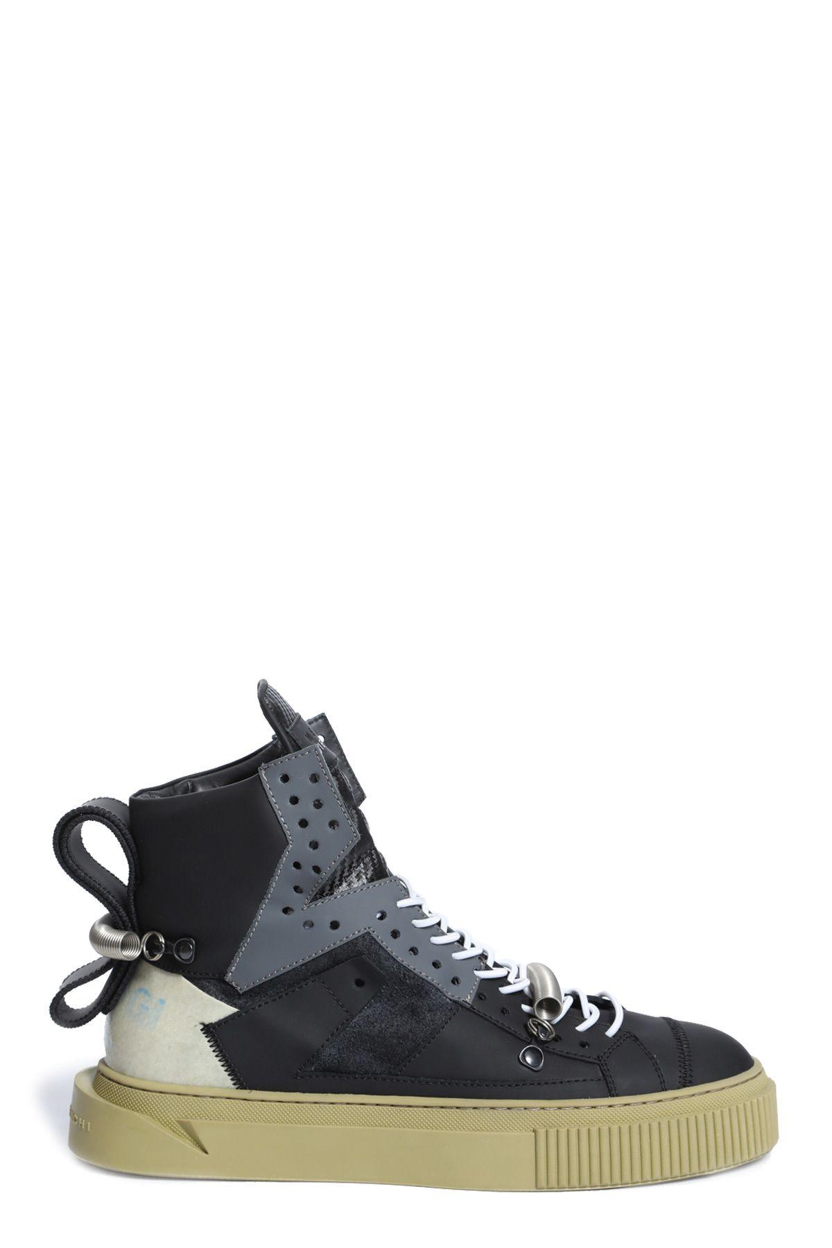 GIENCHI Sneakers in Nero/Grigio