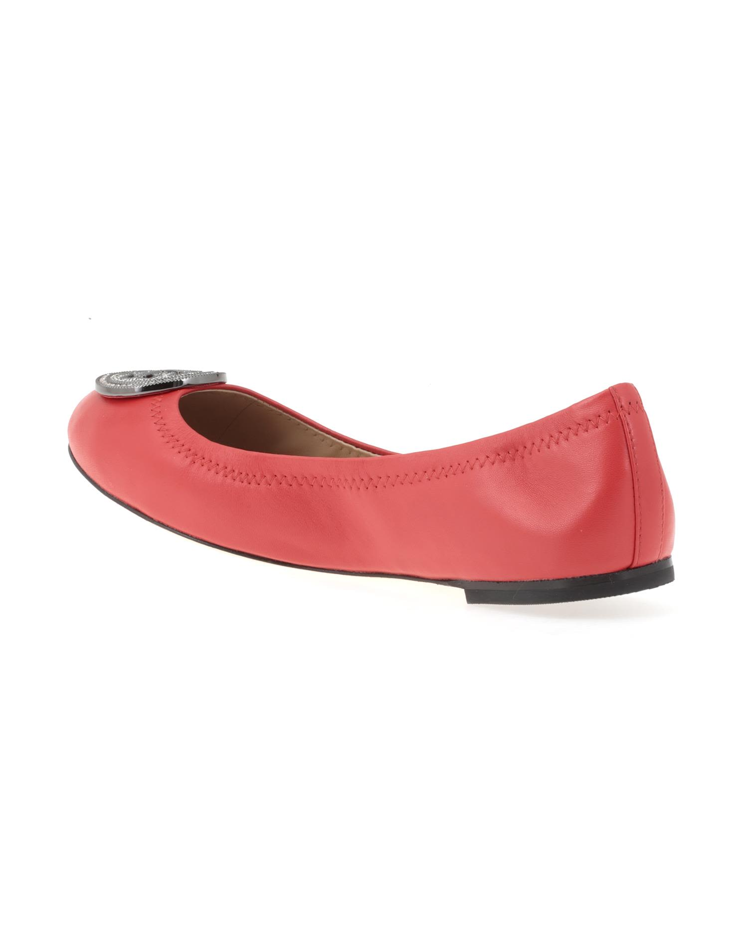 Tory Burch Designer Shoes, Liana Exotic Leather Ballet Flats