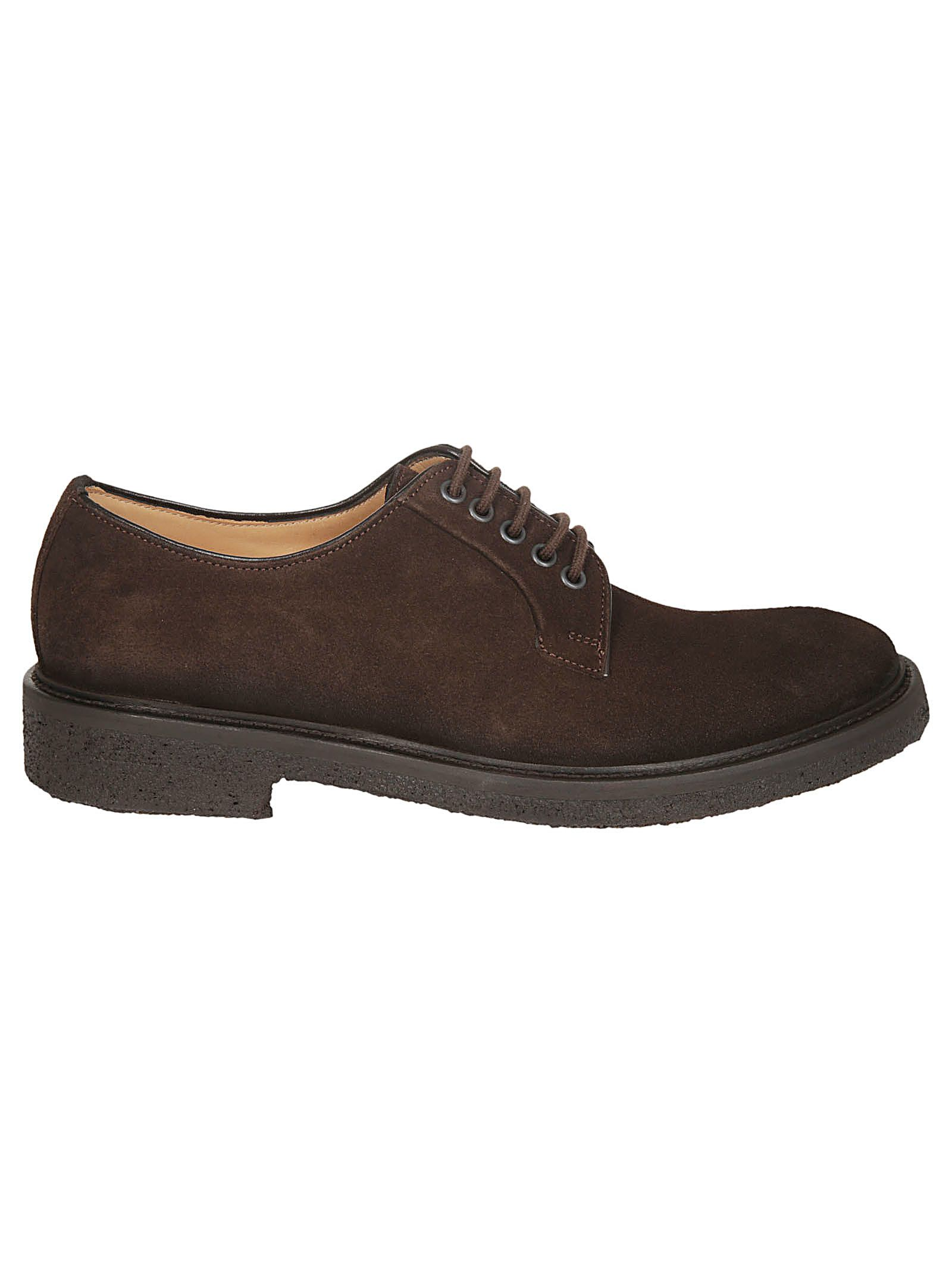 SEBOY'S Classic Derby Shoes in Moro