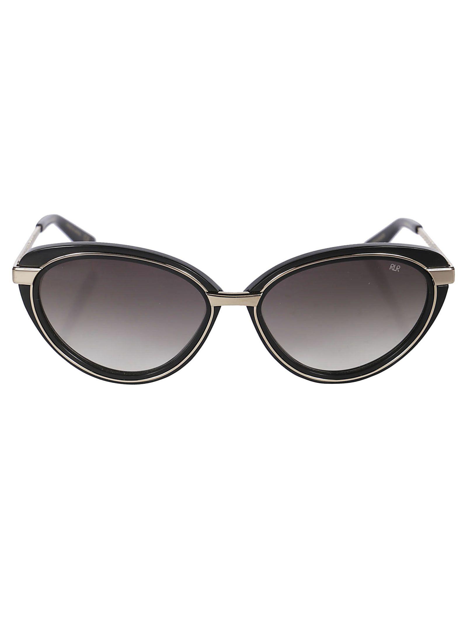 ROBERT LA ROCHE Robert Laroche Classic Tinted Glasses in Black