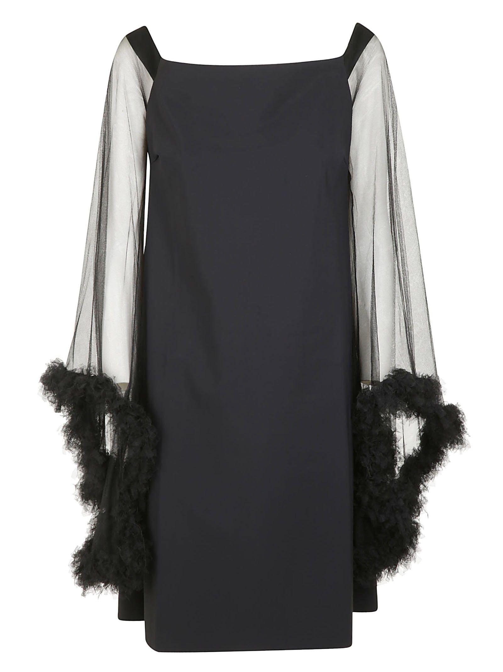 LA PETIT ROBE DI CHIARA BONI Chiyo Mini Dress in Black