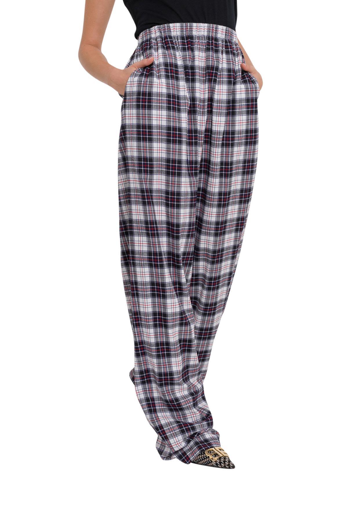 BALENCIAGA WIDE LEG PANTS