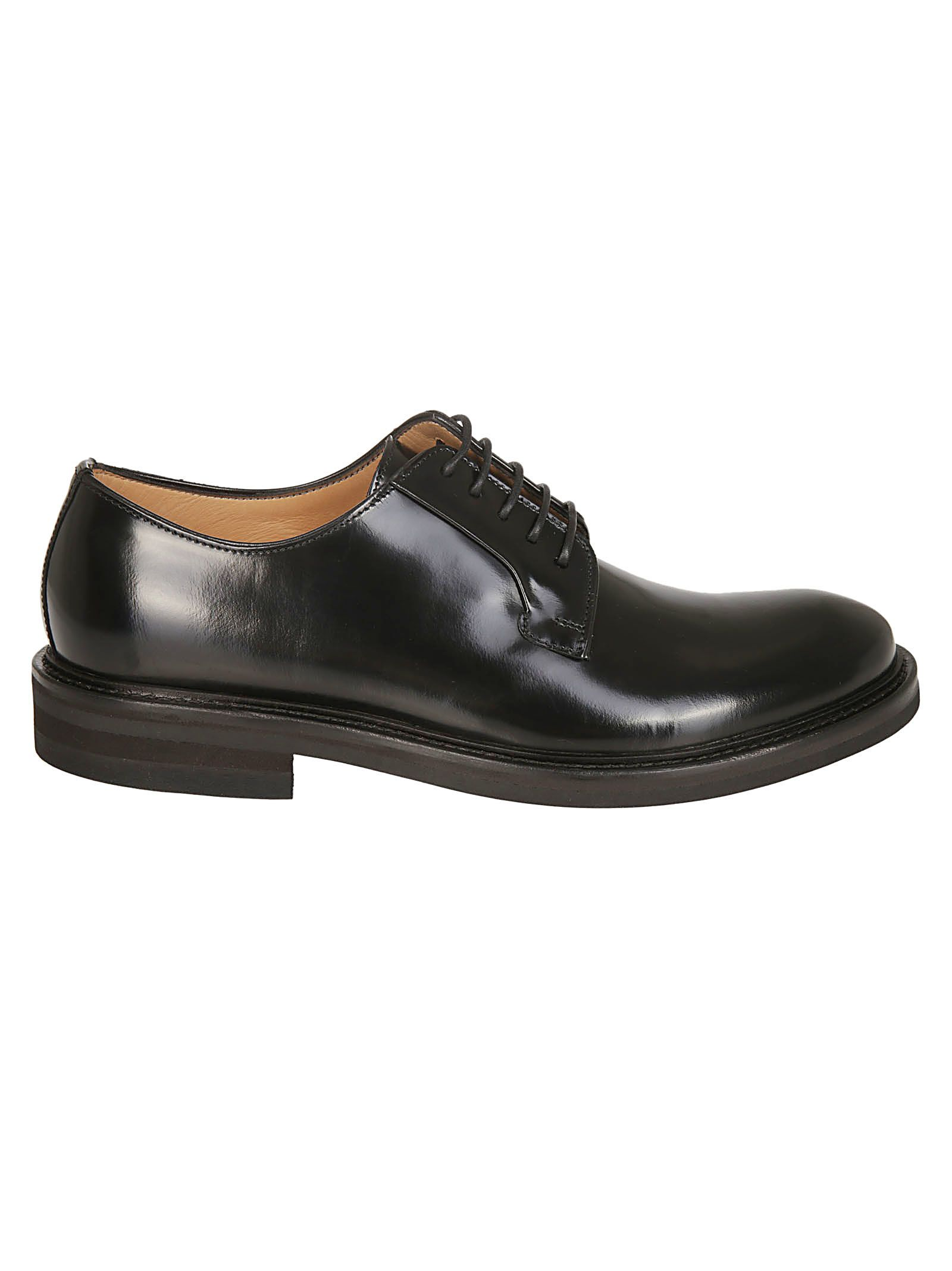 SEBOY'S Classic Derby Shoes in Black