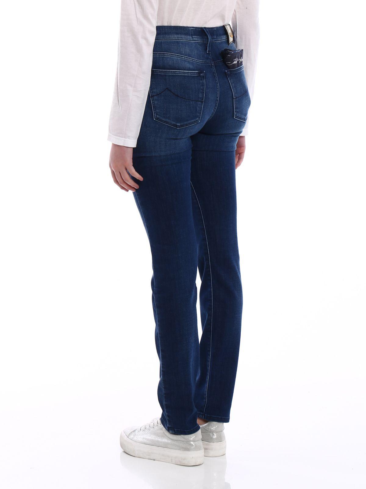 Jean Slim - Bleu Kimberly Jacob Cohen qI8k73dX3