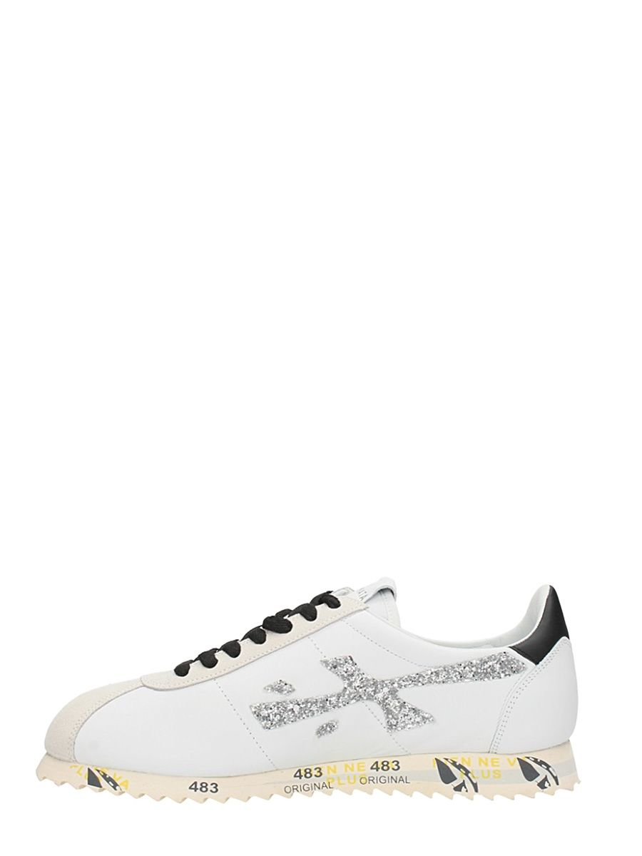 Premiata Hattori Sneaker In Leather Discount With Credit Card Outlet Really AgoaeBeh