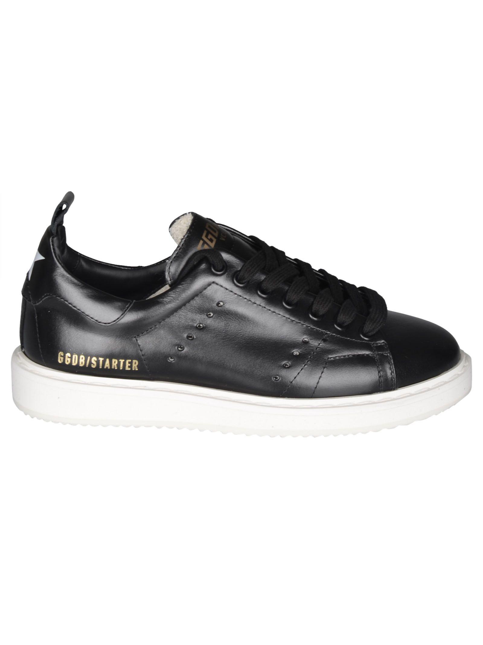 Starter Sneakers, Black Brushed Off