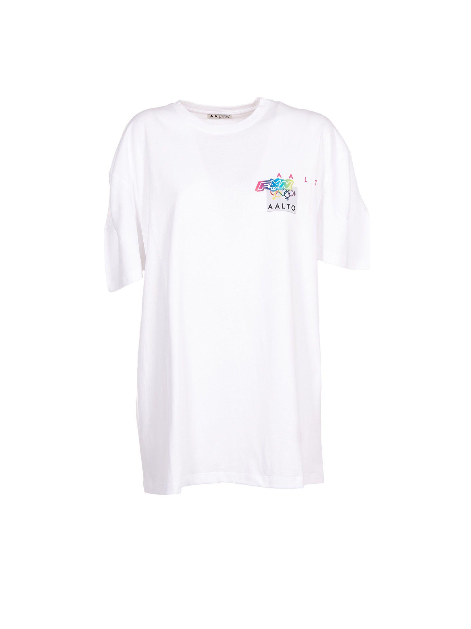 aalto female aalto logo print tshirt