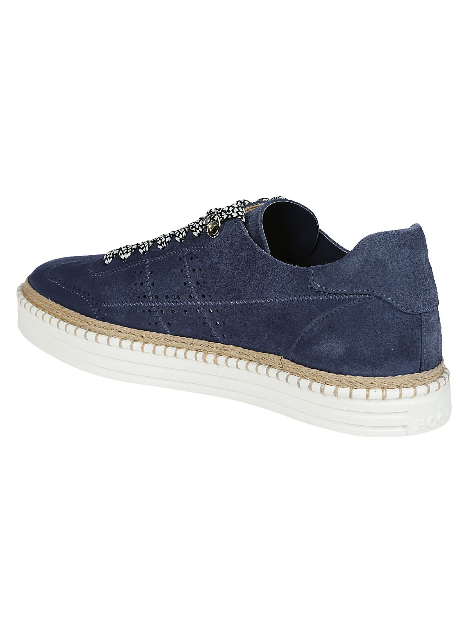 perforated detail sneakers - Blue Hogan