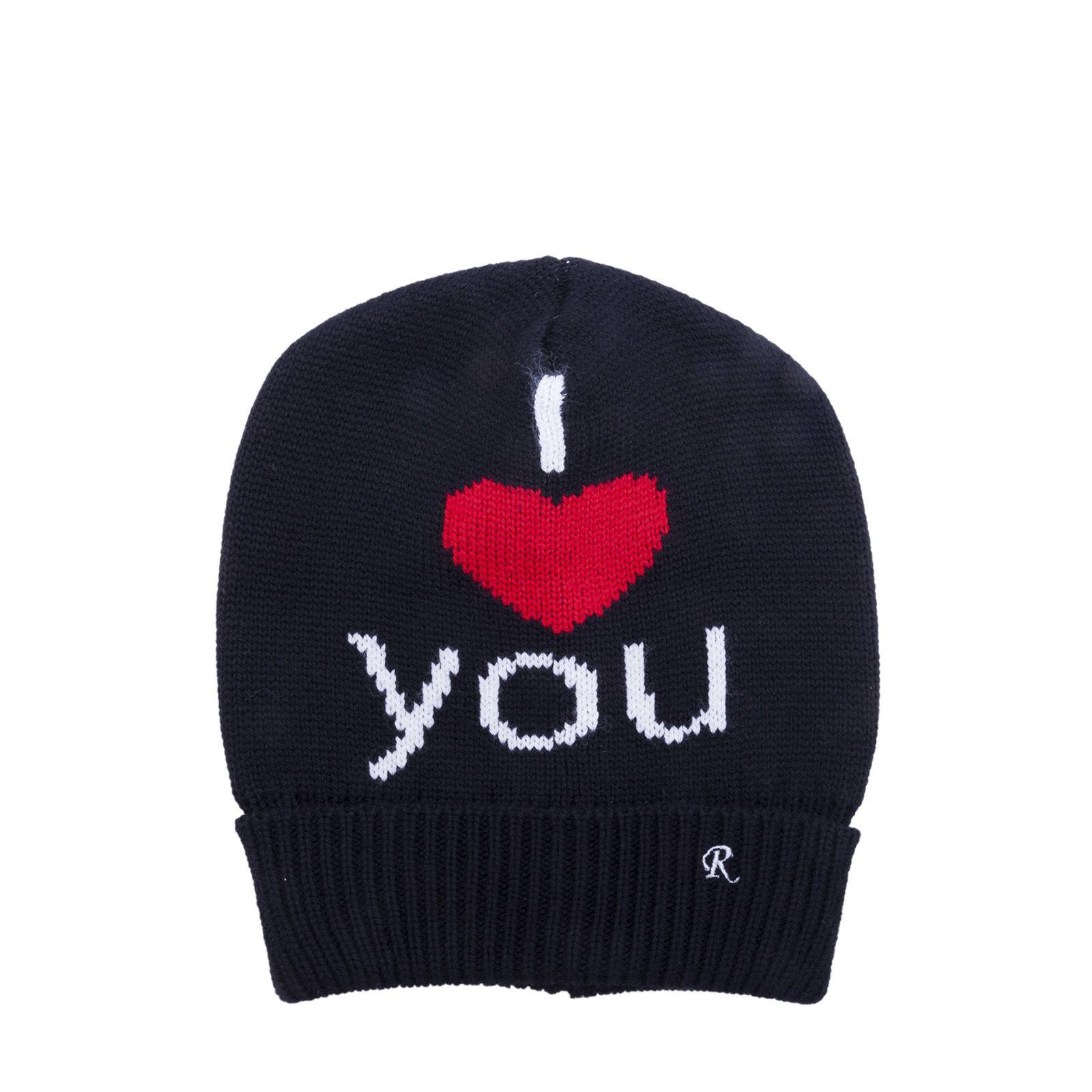 I Heart You beanie - White Raf Simons T3X4ku