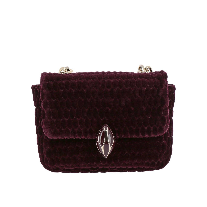 F.E.V. BY FRANCESCA E. VERSACE F.E.V. By Francesca E. Versace Mini Bag Shoulder Bag Women F.E.V. By Francesca E. Versace in Burgundy