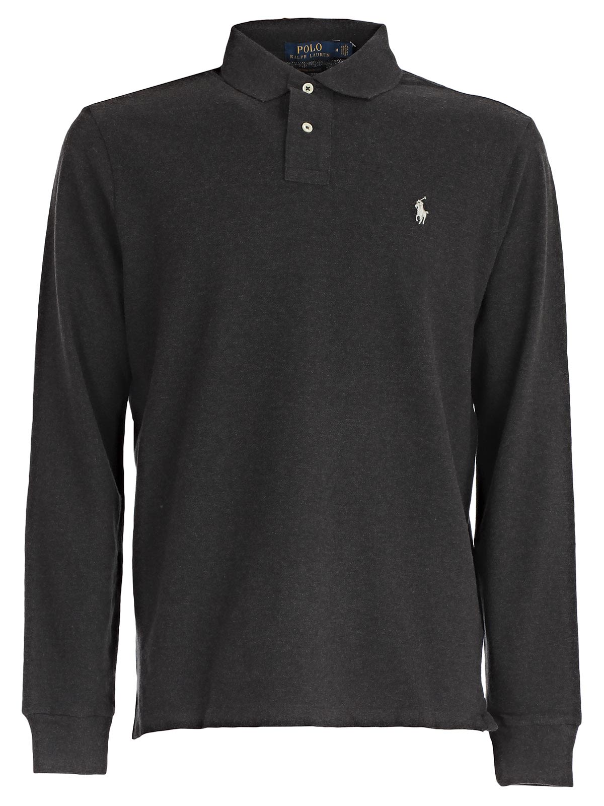 Polo Ralph Lauren Embroidered Long Sleeve Polo Shirt